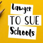 lawyers to sue school