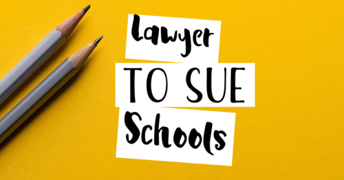 lawyers to sue school