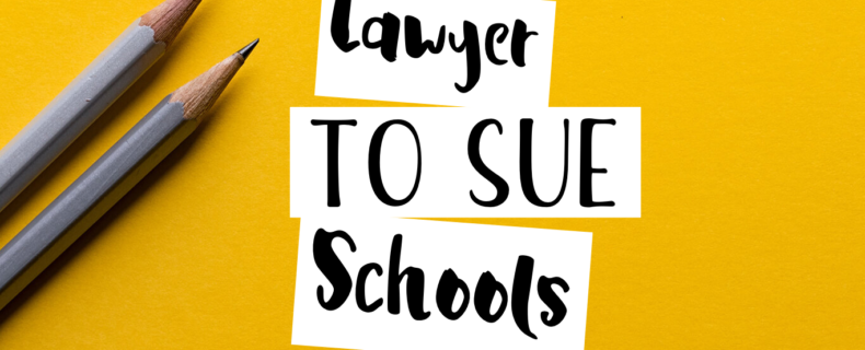Lawyer to Sue Schools
