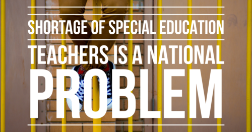 shortage of special education teachers